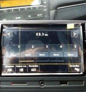 Штатная магнитола rcd 330 plus(для VW,skoda и т.д)