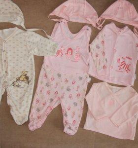 Комплект одежды для девочки.