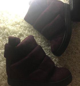 Ботинки очень классные, новые!!