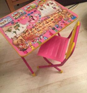 Столик с стульчиком
