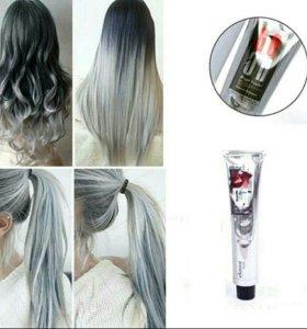 Серая краска для волос новая