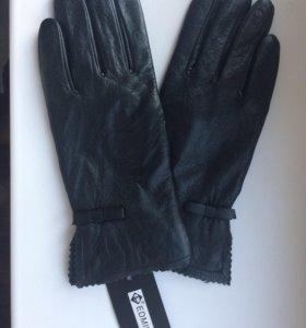 Перчатки женские (натуральная кожа)