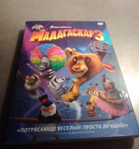 Мадагаскар 3 DVD