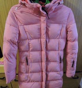 Утепленная подростковая куртка размер 42!