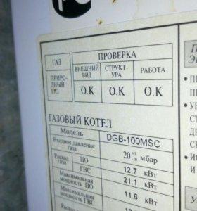 Котел газовый DAEWOO DGB-100MSC