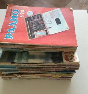 Большая коллекция журналов радио