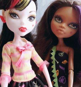 Куклы Клодин и Дракулаура Monster High