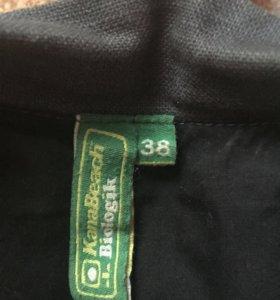 Джинсовая куртка-пиджак kanabeach