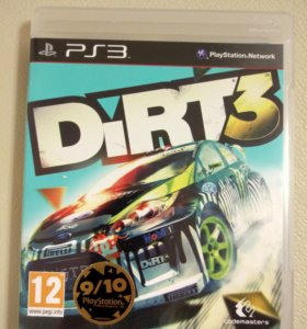 Игра гонки Dirt3 для playstation3