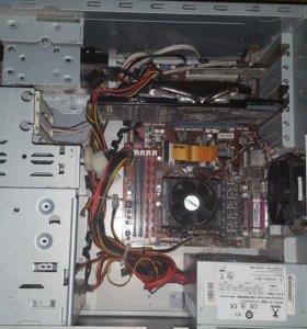 Компьютер и монитор