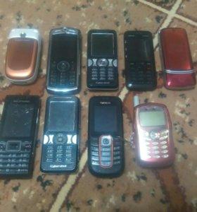 Мобильные телефоны Motorola, Nokia, Sony Ericsson,