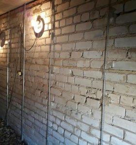 Штукатурка, выравнивание стен