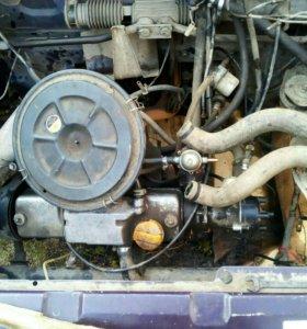 Двигатель 8кл. Карбюратор