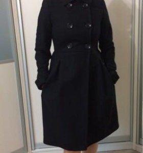 Пальто 100% шерсть Zara Woman