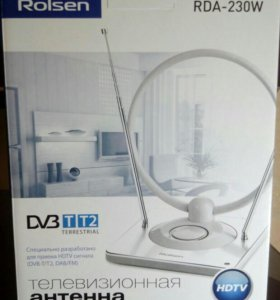 Новая активная антенна DVB-T2