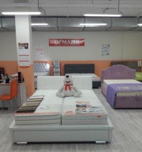 Кровать с орт. матрасом