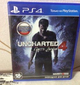 Игра для PS4 - UNCHARTED4 ( путь вора)