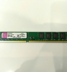 DDR3 2gb 1333 DIMM Kingston