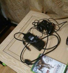 Xbox360 + 6 игр + кинект