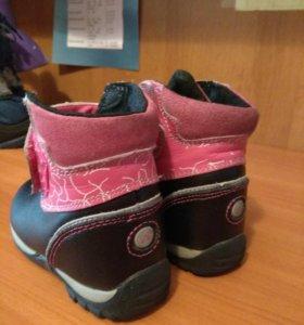 Демисезонные ботинки Amalfy.