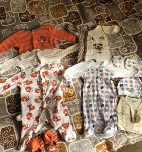 mothercare, боди пижамы