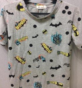 футболка с бэтменом
