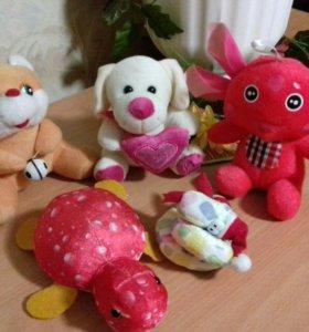 Набор новых детских игрушек