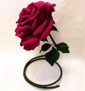 Ростовые из гофрированной бумаги цветы свадьба