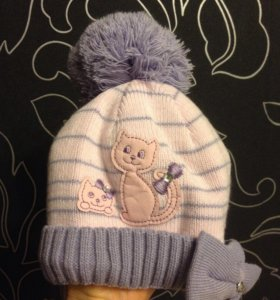 Зимняя шапка на 1-1,5 года