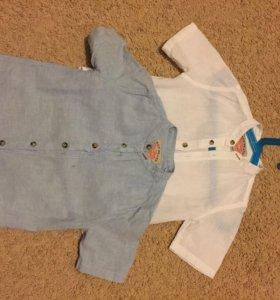Две рубашки лен