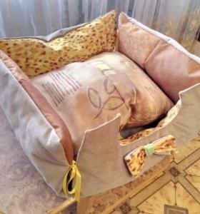 лежак для домашних питомцев