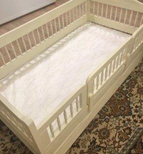 Новая детская кровать 160/80 и подарок