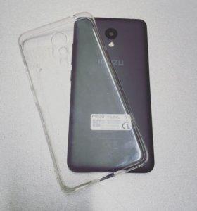 Силиконовый бампер Meizu M5c