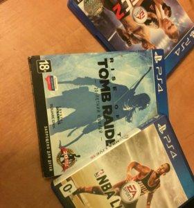 Игры для PS4 UFS 2, Tomb Rider, NBA15