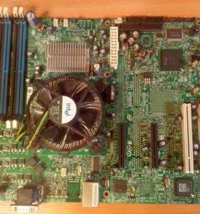 Материнская плата intel S3000AH серверная