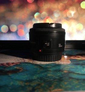 Canon 50 mm 1:1.8