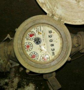 Установка водомера (счётчика воды) в колодце и ква