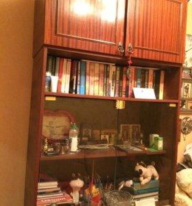 Книжный шкаф с антресолей