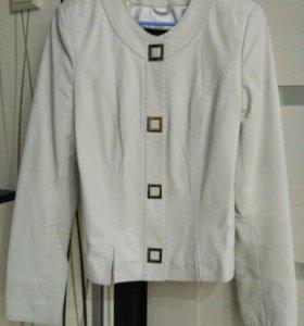 Пиджак-куртка кожаный