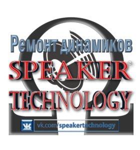 Ремонт динамиков   Speaker Technology™   Урай