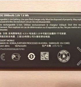 Microsoft BV-T3G аккумулятор 2000 mAh Li-ion новый