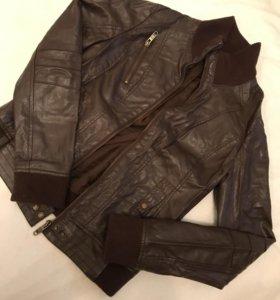 Куртка кож.зам Bershka
