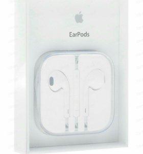 Apple EarPods оригинальная проводная гарнитура