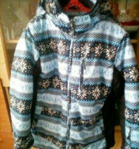 Зимняя куртка на овчине 54 р-р