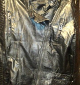 Куртка кожа лайкра 48р недорого мне мала