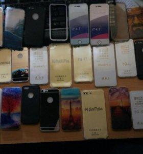 Чехлы на все айфоны 4,4s,5,5s,se,6,6s,7,7+,8,8+