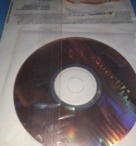 Лицензионный диск Windows XP Proff