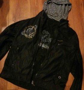 Подростковая куртка(двухсторонняя)