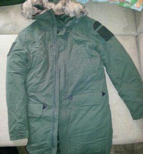Куртка-аляска мужская