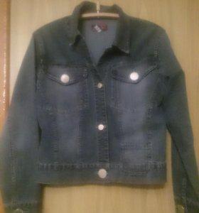 Куртка джинсовая. Джинсовка